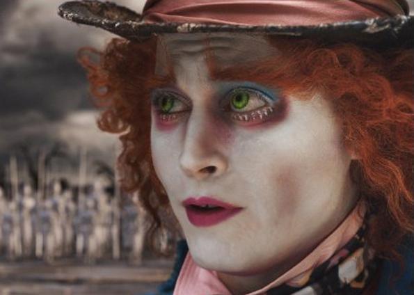 Johnny Depp em Alice no País das Maravilhas