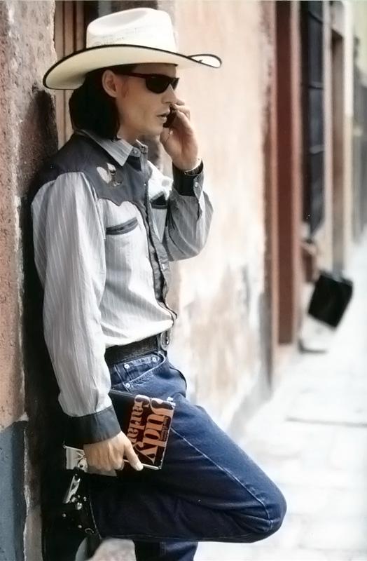 Johnny Depp em Era Uma Vez no México