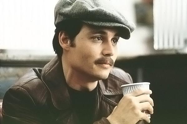 Johnny Depp em Donnie Brasco