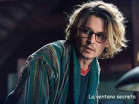 Johnny Depp em A Janela Secreta