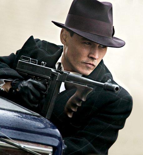 Johnny Depp em Inimigos Públicos