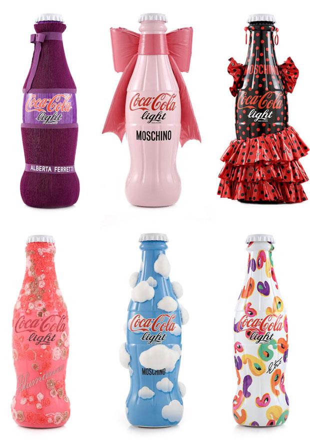 Garrafinhas de Coca-Cola Customizadas