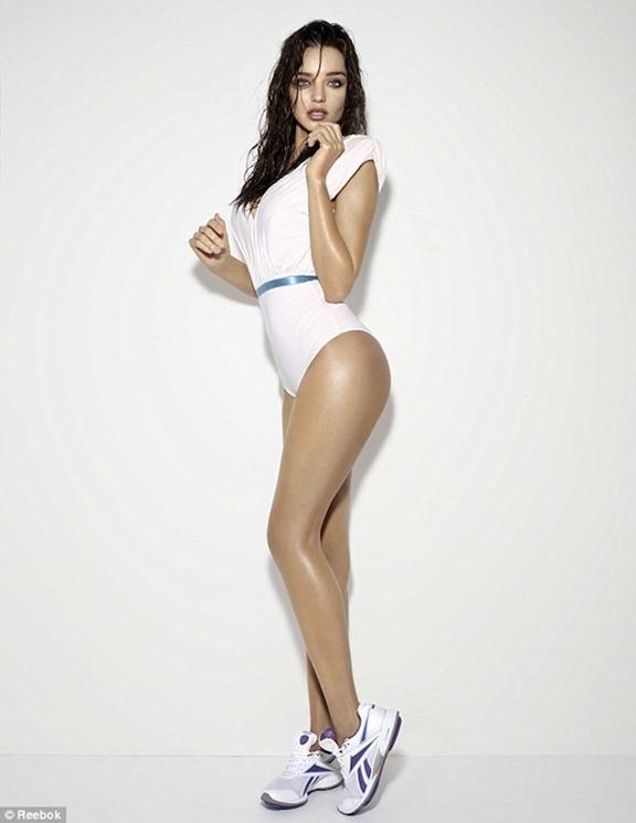 Miranda Kerr para Reebok