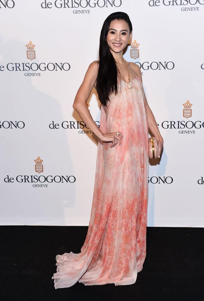 Cecelia Cheung no Festival de Cannes 2012
