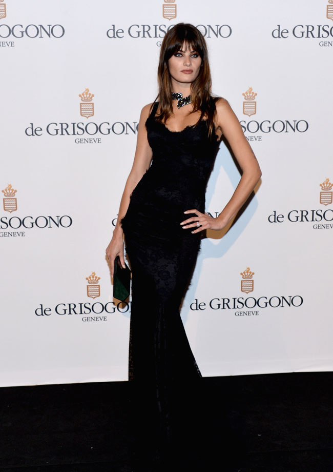 Isabeli Fontana no Festival de Cannes 2012
