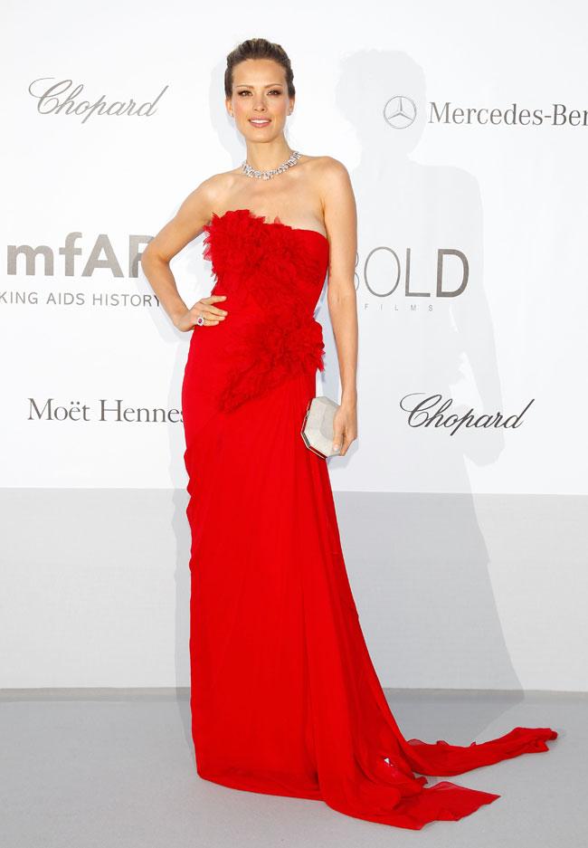 Petra Nemcova no Baile da amfAR em Cannes 2012