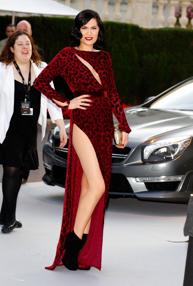 Jessie J no Baile da amfAR em Cannes 2012