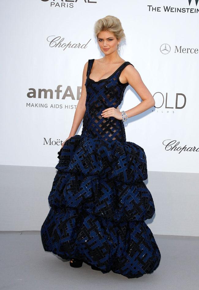 Kate Upton no Baile da amfAR em Cannes 2012