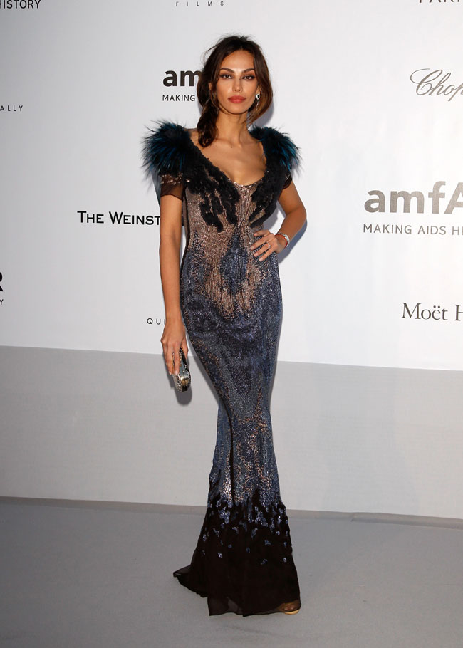 Madalina Ghenea no Baile da amfAR em Cannes 2012