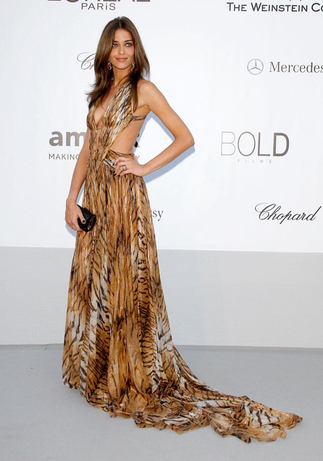 Ana Beatriz Barros no Baile da amfAR em Cannes 2012