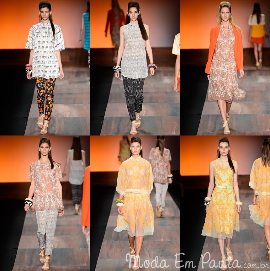 Andrea Marques - Fashion Rio Verão 2013