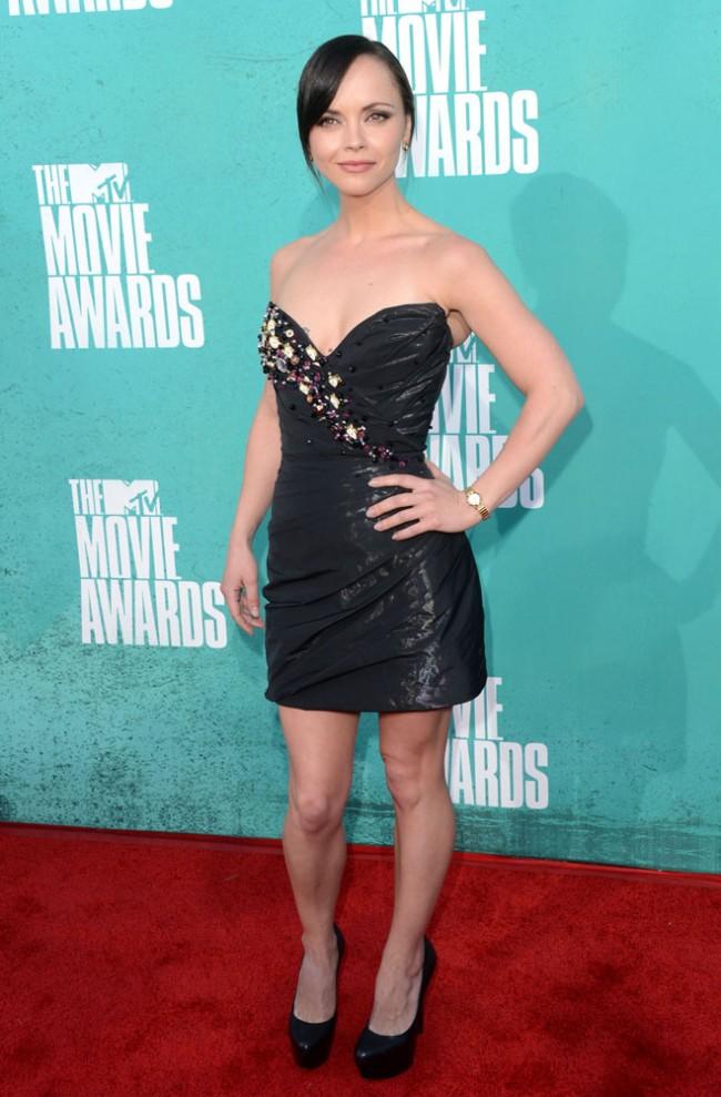 Christina Ricci - Look MTV Movie Awards 2012