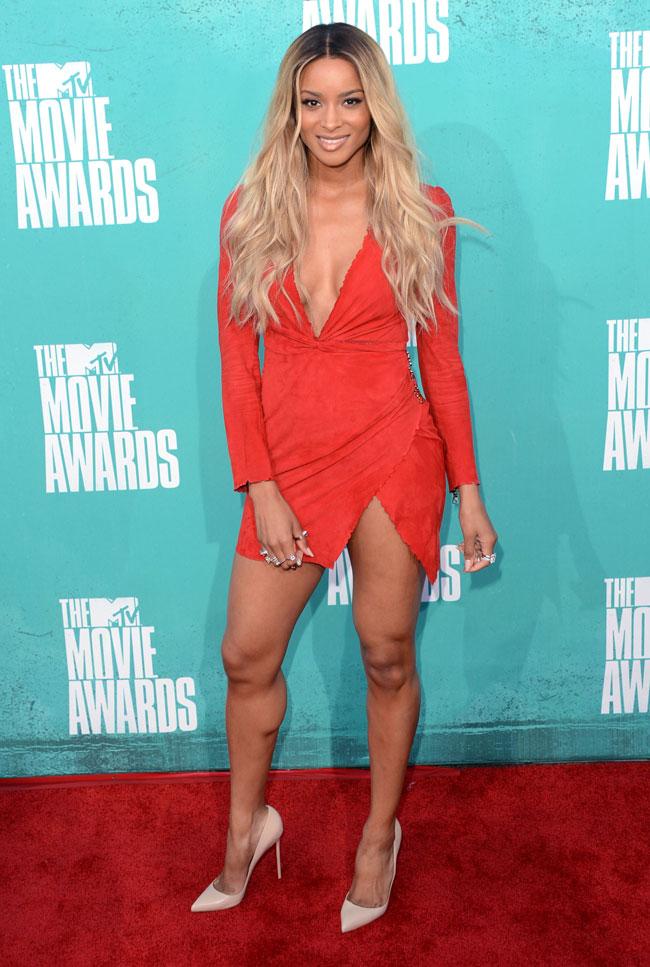 Ciara - Look MTV Movie Awards 2012