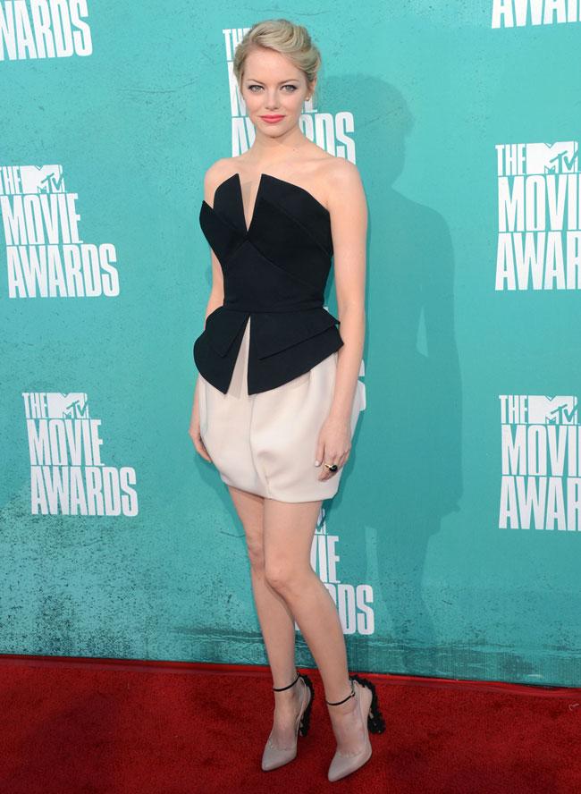 Emma Stone - Look MTV Movie Awards 2012