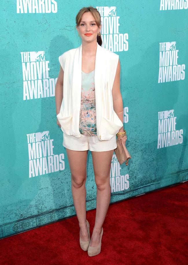 Leighton Meester - Look MTV Movie Awards 2012