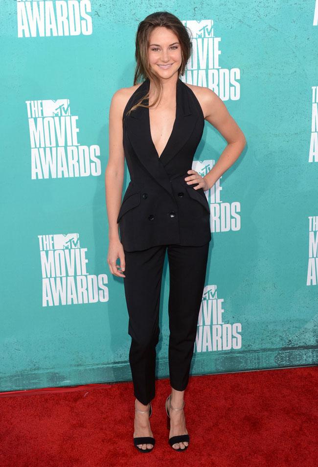 Shailene Woodley - Look MTV Movie Awards 2012