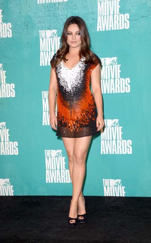 Mila Kunis - Look MTV Movie Awards 2012