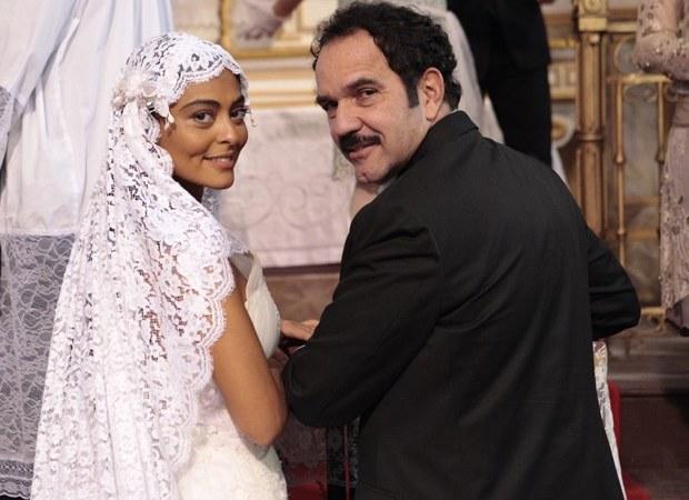 Gabriela (Juliana Paes) Vestida de noiva