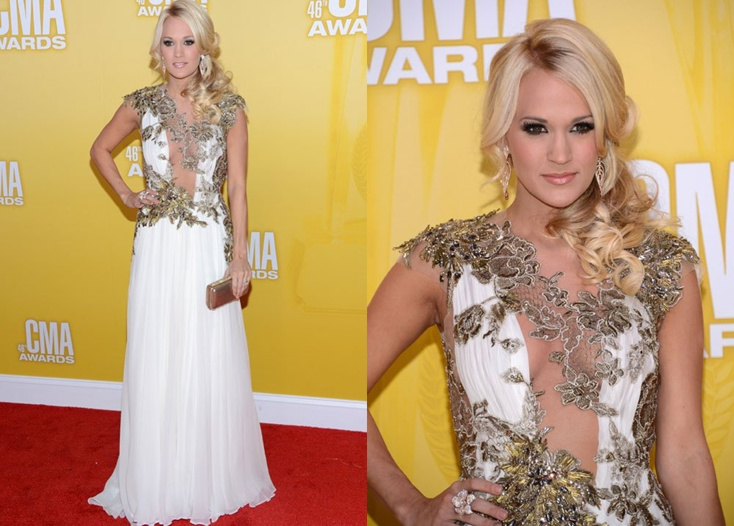 Look Carrie Underwood CMA Awards 2012