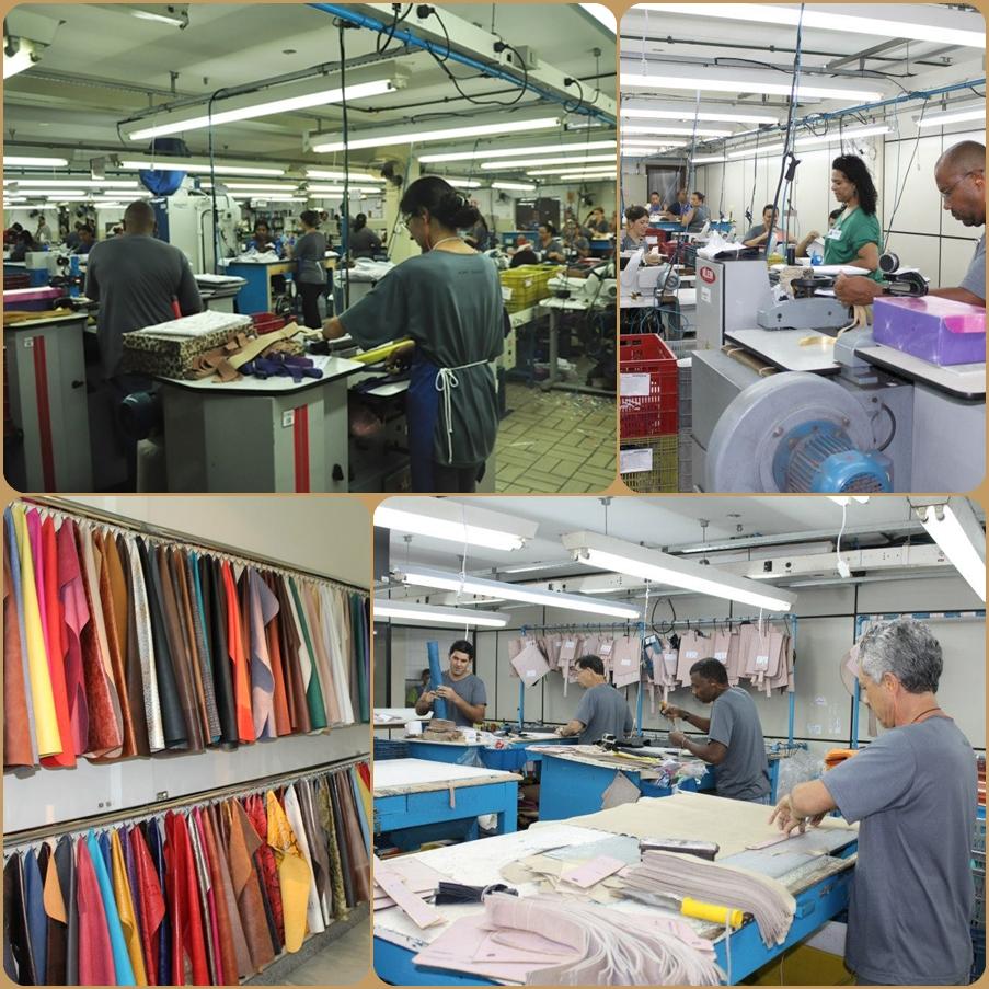 Visita fábrica Carmen Steffens em Franca/SP