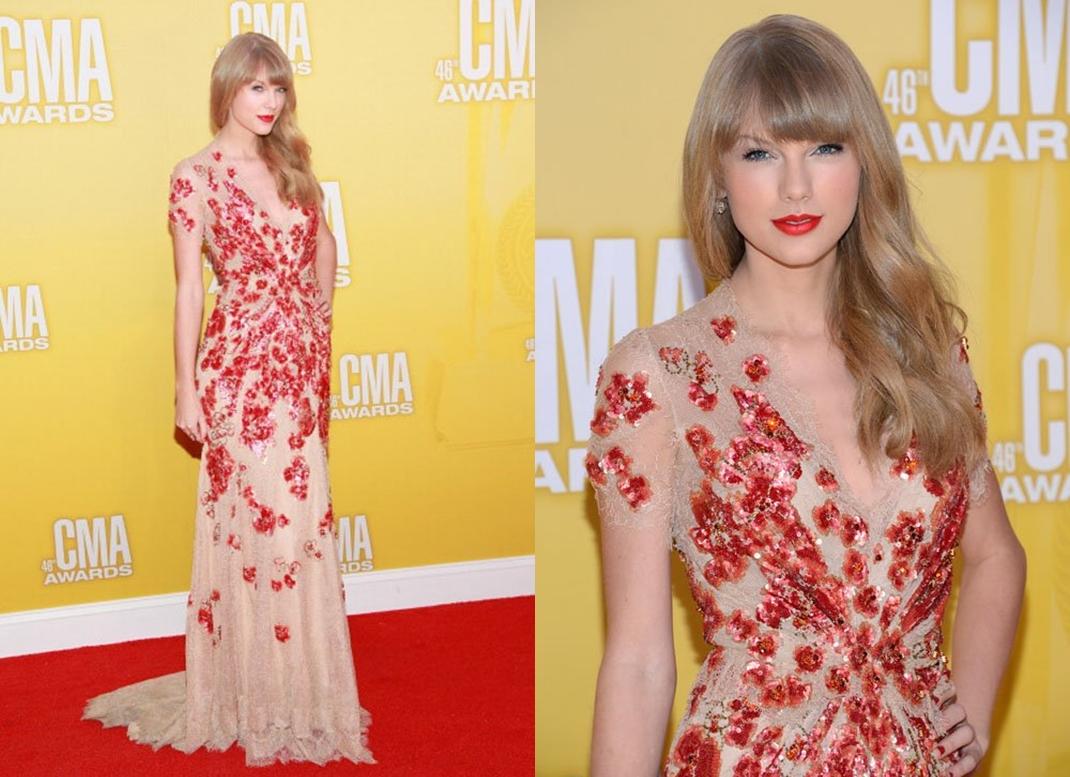 Look Taylor Swift CMA Awards 2012